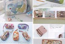 necessaires e afins / modelos de bolsas e necessaires, com pap, moldes ou somente inspirações. / by regina silva