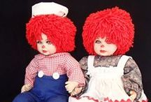 Collectible Dolls / Who loves dolls? We do! Collection of great dolls we have found that struck our fancy.