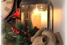 Lantern Decorating Ideas / Create your own style Lantern for the Holidays !