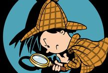 Detektiv Party / Hier findet ihr süße Ideen, Pappgeschirr und Dekorationen für eure Detektivparty.