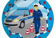 Polizei Party / Hier findet ihr süße Ideen, Pappgeschirr und Dekorationen für eure Polizeiparty.