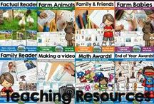 Malimo Mode - Teaching Resources / A board with all kinds of content from Malimo Mode. Teaching resources such as readers, literacy and math tasks and units, classroom decor, awards and more!