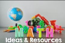 Math / A board for ideas and resourced tied to teaching and learning math skills. / by Maren @ Malimo Mode