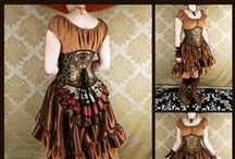 Steampunk inspiration: Costumes / complete steampunk themed outfits that attracted my interest. Either due to it's composition or it's color palette