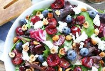 Salad Love / Healthy Delicious Vegetables. Amazing salads  Yummy dressings oh yea