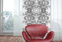 Filigrana / Wallpaper design inspired by traditional Portuguese Jewellery, especially in filigree work.