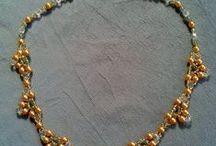 Bijoux - Minhas criações - My creations / Bijuterias que eu faço