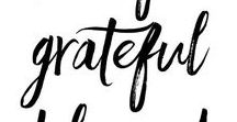 Gratitude / Gratitude practice changed my life. Being thankful for what I have has helped me be happier and more fulfilled. Gratitude + love + thankful. Words for having more gratitude in your life.