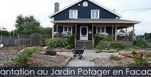 Jardin Potager en Façade - Les Étapes / Comment transformer la davanture de sa maison en véritable jardin potager. Fini de tondre votre terrain. Voir les étapes illustrées avec instructions.