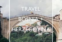 Travel Bosnia + Herzegovina / Travel inspiration, practical tips and handy guides for your trip to Bosnia + Herzegovina.