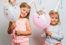 Einhorn Geburtstag / Einhorn ist voll im Trend. Hier findet ihr tolle Partydekoration, DIY Ideen, Torten, Bastelideen, Plätzchenausstecher, Ballons und Girlanden für die perfekten Einhorn oder Regenbogen Geburtstagsparty.
