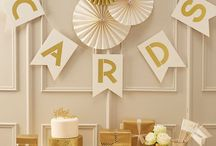 gold wedding - Hochzeitsdeko gold / Hier findet ihr wundervolle Ideen und Dekorationen für eure Hochzeit in der Farbe gold.