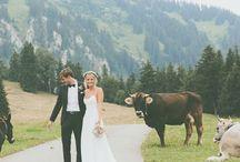 Hochzeit in den Bergen / Hier findet ihr tolle Ideen und Inspirationen wenn ihre eine Hochzeit in den Bergen feiern möchtet.