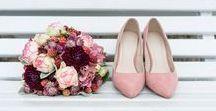 rosa Hochzeit - rose wedding / Hier findet ihr wundervolle Ideen und Dekorationen für eure Hochzeit in der Farbe rosa.