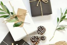 Verpackungen - packaging - DIY - wrapping / Wunderschöne Verpackungen, DIY und Ideen um Geschenke wundervoll zu verpacken.