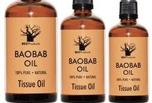 Proudly South African: Made With Baobab Oil / EcoProducts loves to promote all local products which use Baobab oil...it means producers are supporting the baobab tree and the communities which earn a living from harvesting baobab seed pods.