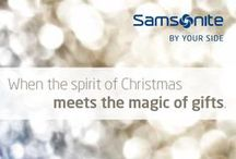 Gift Catalogue 2013 / Samsonite offers a big variety of products which can be given away to your loved-ones!