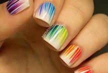 "Nails!!! / ""So many nail polishes and not enough fingers..."""