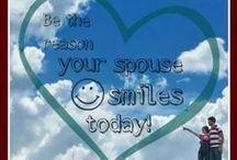 51 Ways to Make Your Spouse Smile / from the post on EncourageYourSpouse.com : http://encourageyourspouse.com/51-ways-reason-spouse-smiles-today/