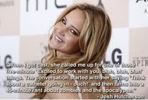 Jennifer Lawrence / This is one funny gal