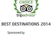 2014 Best Destinations Travelers' Choice TripAdvisor / Samsonite®, the world's leading travel solutions provider, is thrilled to sponsor TripAdvisor's Annual Travellers Choice. To highlight the 2014 best destinations around the world, Samsonite has paired each one with one of their own top 25 luggage collections: