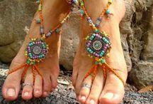 Boho hippy chick