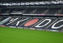 The BOX Seat at MK Dons' Stadium:MK / Fully padded BOX Seats installed at Stadium:MK; home ground of MK Dons Football Club