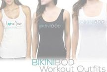 BikiniBOD Workout Outfits / Fun and Flirty Fitness Attire to get you felling sexy even while you're training for your BikiniBOD.