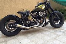 Stormer /  Harley 2000 Nightrain, 107 ci, rsd slant, bobber, night train, softail, harlet davidson