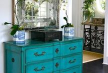 Painted furniture / renew a furniture