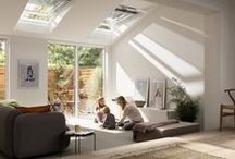 Home Extensions / Bring twice the light to an extension with VELUX roof windows.