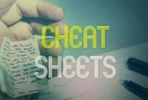 Filmmaking Cheat Sheets / Are you looking for a quick guide to script formatting or screenplay structure, digital video resolutions, Twitter image size, the Facebook blue… Filmsourcing's ultimate collection of filmmaker's cheat sheets is here to help! http://www.filmsourcing.com/film-industry-cheat-sheet