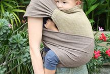 Maternity clothes and baby wearing