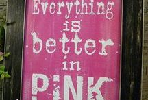 Perfectly pink / All things pink and pretty / by Lucy Smith