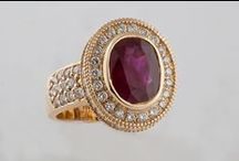 Red-Hot Rubies  / Bashinski's Exquisite and Timeless Ruby Collection (and other ruby (p)inspirations