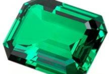 "Emerald-Inspired  / Emerald is the 2013 ""Color-of-the-Year"" for jewelry, fashion, weddings, and home!!  Be inspired!"