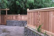 Fence, gate and door ideas