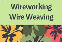 Tutorials - Wireworking, Wire Weaving / This board has been created to help jewelry designers who have an interest in learning how to do wire working and wire weaving; or, simply for inspiration. Tutorials provided by various resources.