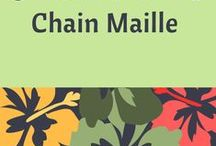 Tutorials - Chain Maille / This board has been created to help jewelry designers who have an interest in learning chain maille weaves; or, simply for inspiration. Tutorials provided by various fabulous resources.