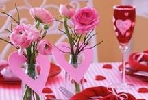 Valentine's Day   Floral Design Inspiration / Be inspired for Valentine's Day by all these inspirational pins found here on Pinterest!