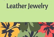 Tutorials - Leather Jewelry / This board has been created to help jewelry designers who have an interest in learning how to create jewelry in leather; or, simply for inspiration. Tutorials provided by various resources.