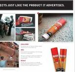 Printed advertisements / on the newspaper, the magazine and etc.