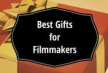 Gift Ideas for Filmmakers / Ultimate gift guide for filmmakers (directors, actors, writers, cast, crew...). Buying a gift for a filmmaker can be tricky. You want to steer away from technical gadgets (too risky), yet find something more memorable than a chocolate bar.