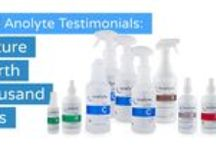 Anolyte It! Stories from Anolyte Lovers / Before and after pictures of Customer experiences with Anolyte products purchased through Nature Unleashed.