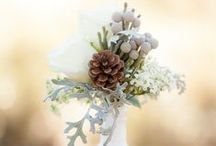 Winter Floral Inspiration / Be inspired by all these beautiful wintery floral decorations!