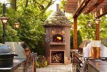 Outdoor Kitchen and Braai Area