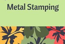 Tutorials - Metal Stamping / This board has been created to help jewelry designers who have an interest in learning how to stamp onto metals for your jewelry designs; or, simply for inspiration. Tutorials provided by various sources.