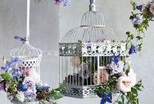 Birdcage Flower Arrangements