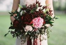 Marsala Wedding Inspiration / Marsala is chosen as color of the year 2015. Check out our board to see how you can translate this to your own wedding décor with blooms, floral arrangements and other inspiration!