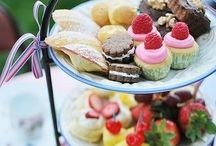 Tea party food / Wonderful snacks and cakes to have with tea
